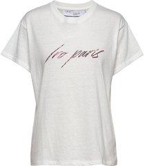 lyka t-shirts & tops short-sleeved vit iro