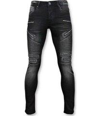 skinny jeans true rise luxe biker jeans zip -