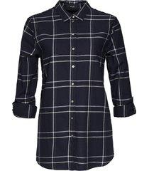 opus geruite blouse fabina big check