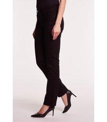 czarne spodnie jeansowe daisy