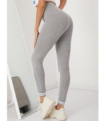 leggings casuales de cintura alta yoins basics
