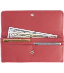 royce new york rfid blocking clutch wallet