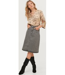 jeanskjol fay denim skirt