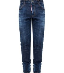 cool guy jean raw edge jeans
