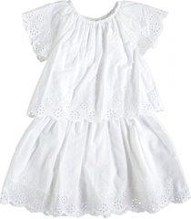 name it snow white laagjes jurk katoen