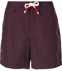 orlebar brown standard swim shorts - purple