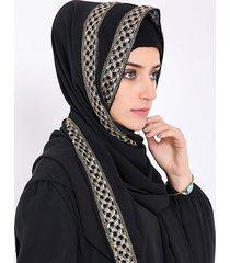 sciarpa sciarpa musulmana femminile sciarpa chiffona plaid pearl hijab sciarpa islamica islamica sciarpa sciarpa sciarpa