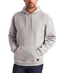 brixton longman ii reserve hoodie, size x-large in heather grey at nordstrom