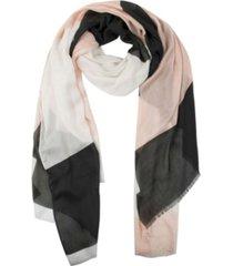 kate spade new york women's geo colorblock oblong scarf