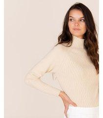 suéter tejido