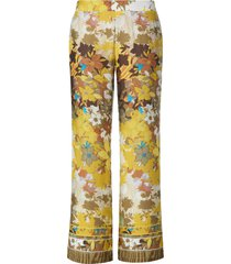 broek wijde pijpen van emilia lay multicolour