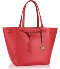 receive a free red tote bag with any $50 elizabeth arden purchase