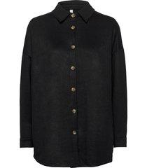 sc-leane långärmad skjorta svart soyaconcept