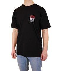 t-shirt korte mouw vans men's new stax ss tshirt
