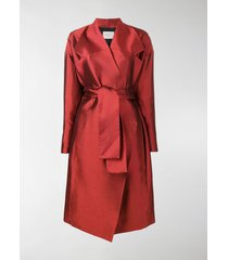 poiret belted trench coat