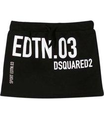 dsquared2 black skirt