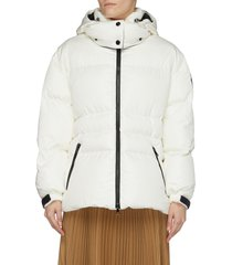 'tiac' down belted puffer jacket