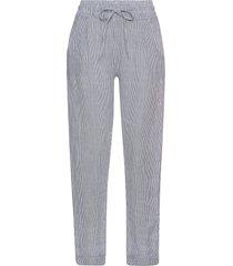 pantaloni in misto lino (blu) - bodyflirt