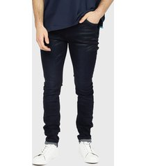 jeans royal country of berkshire polo club azul - calce slim fit