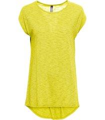 maglia lunga (giallo) - rainbow