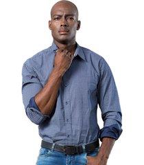 camisa azul albania