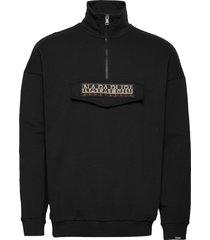 base hz sweat-shirt trui zwart napapijri