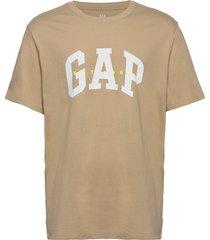 arch est 69 t t-shirts short-sleeved beige gap