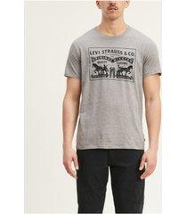 levi's men's 2-horse graphic t-shirt