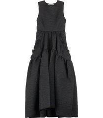 cecilie bahnsen hilda gathered waist dress