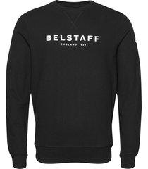 belstaff 1924 sweatshirt sweat-shirt trui zwart belstaff