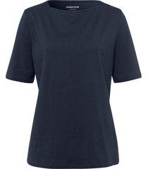 shirt 100% katoen boothals van green cotton blauw