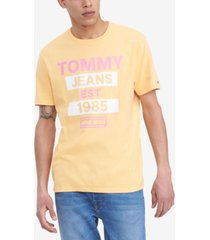 tommy hilfiger men's tommy jeans lupes graphic t-shirt
