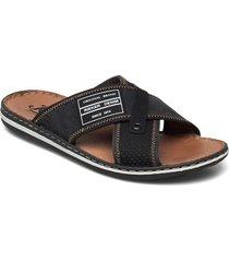 21064-01 shoes summer shoes sandals svart rieker