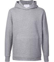 john elliott villain hooded pullover sweatshirt - grey