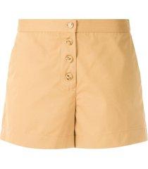 eva doris tailored shorts - neutrals