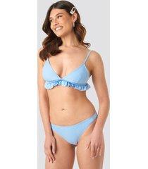 na-kd swimwear bikini panty - blue