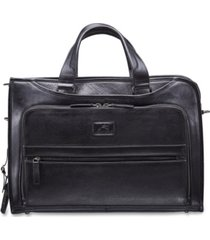 mancini vanizia collection top zippered single compartment laptop and tablet briefcase