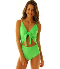 body maiô thay verde neon - brazil del mar verde - kanui