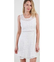 vestido de encaje sweet blanco night concept