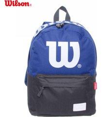 mochila azul wilson