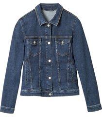jeansjack, donkerblauw 40