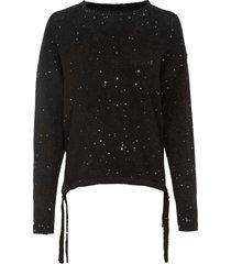 maglione con paillettes (nero) - bodyflirt