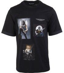 black the rockstar gods man t-shirt