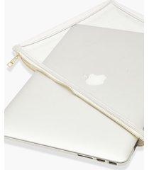 clear zip top laptop case, clear