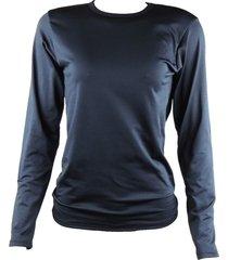 blusa térmica segunda pele inverno preto