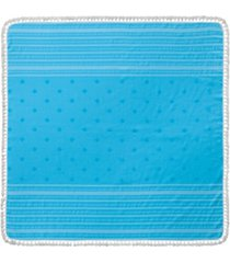 enchante home micra turkish cotton square beach towel bedding