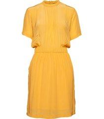 havella dress knälång klänning gul holzweiler