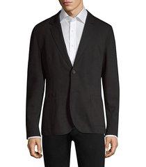 classic-fit agaltu soft raw edge jacket