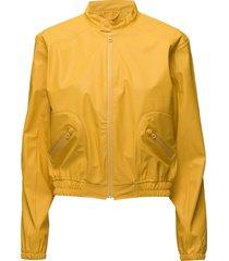 rain jacket regnkläder gul ilse jacobsen