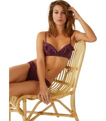 sujetador traje de ba?o animal print multicolor women secret 5985196 copa-b9800
